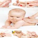 کارگاه ماساژ نوزاد